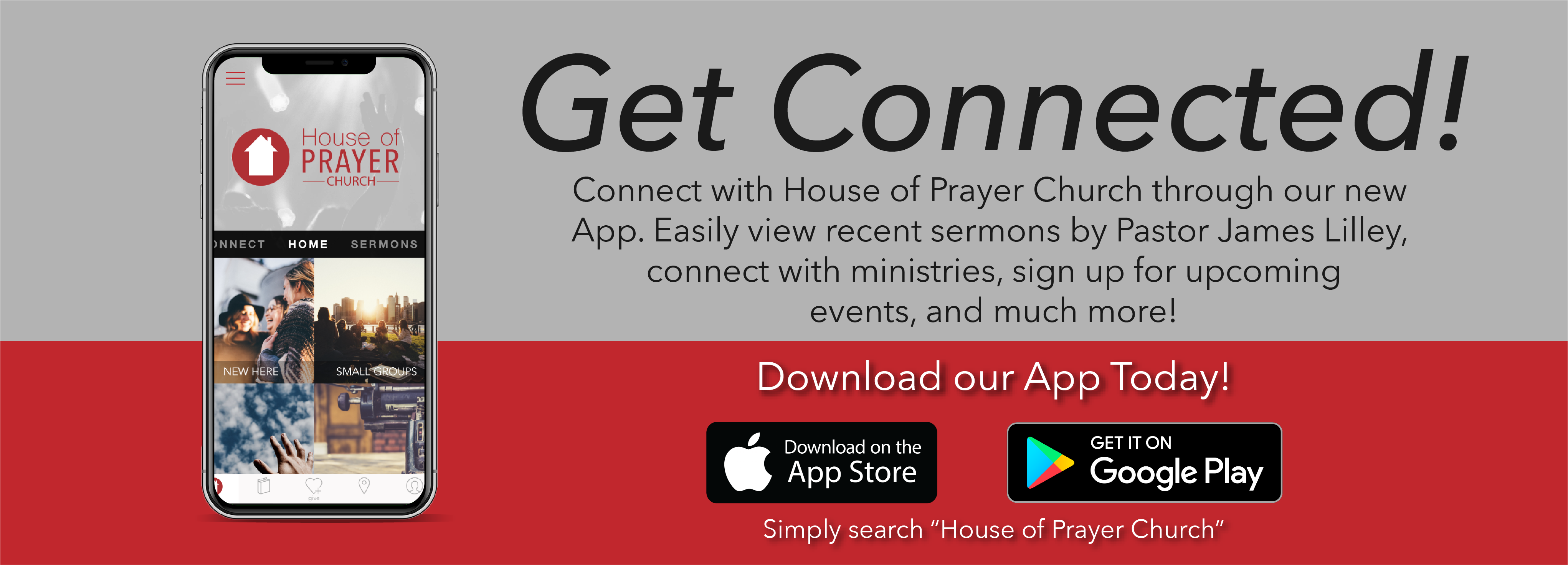 Mobile App - House of Prayer Church - Waterbury Connecticut